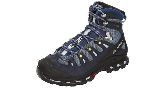 Salomon Quest 4D 2 GTX Hiking Shoes Women Deep Blue/Stone Blue/Light Onix